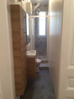 salle de douche rénovée-latelierdesa