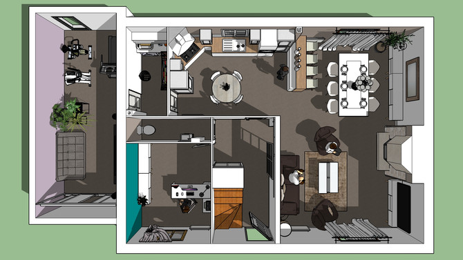 Moderniser une maison avec du mobilier l'Atelier de Sab