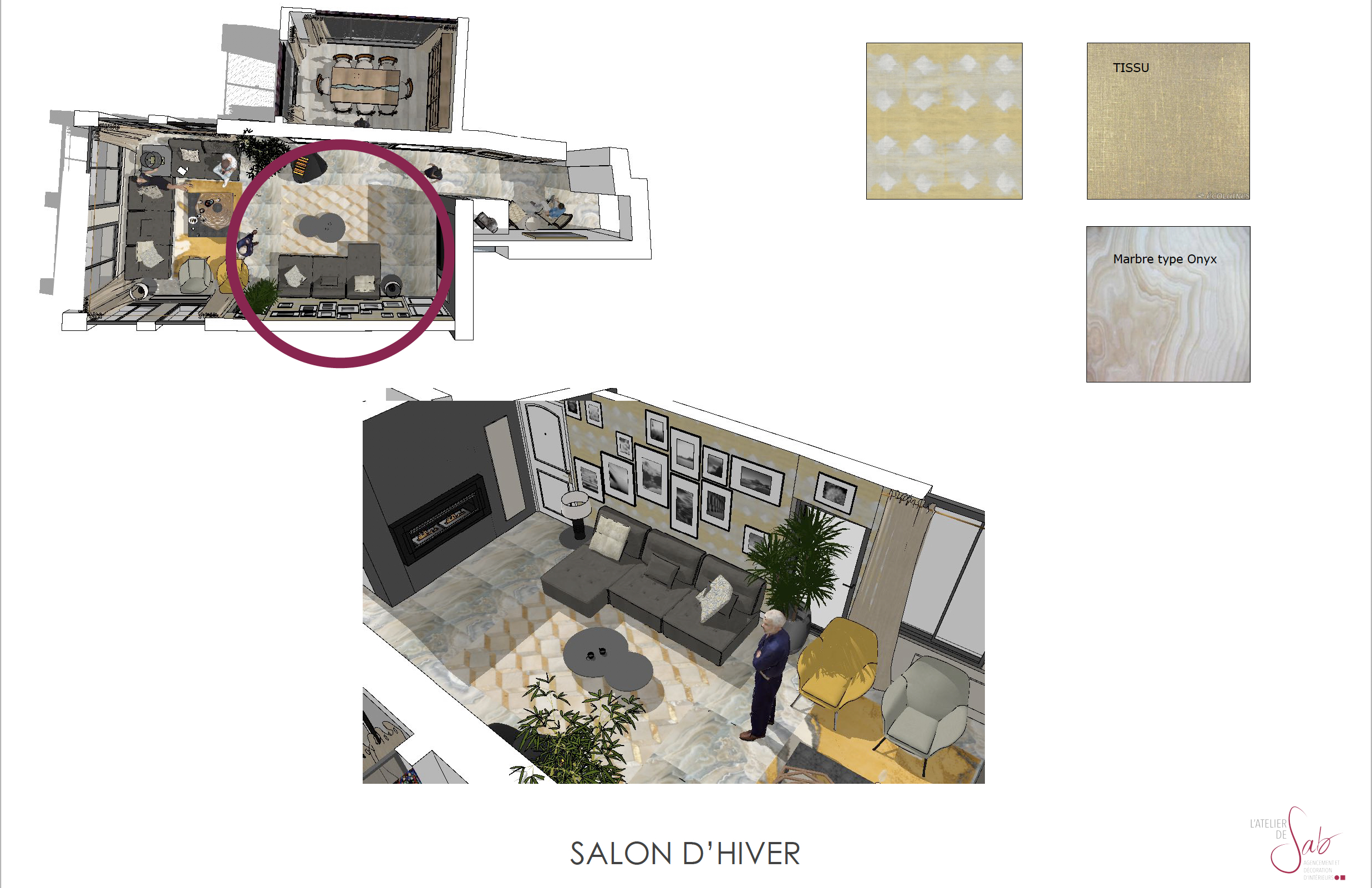 Salon d'Hivers 3D