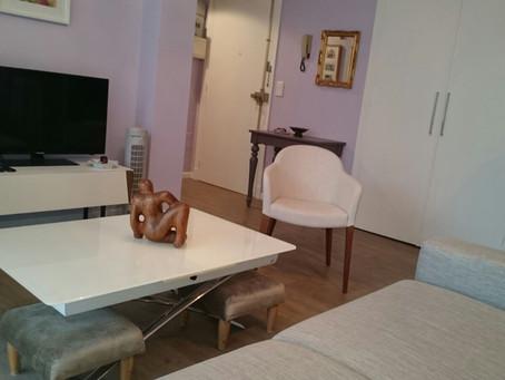 Un F2 meublé, entièrement refait destiné à la location