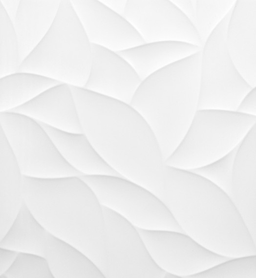 Carrelage 3D blanc