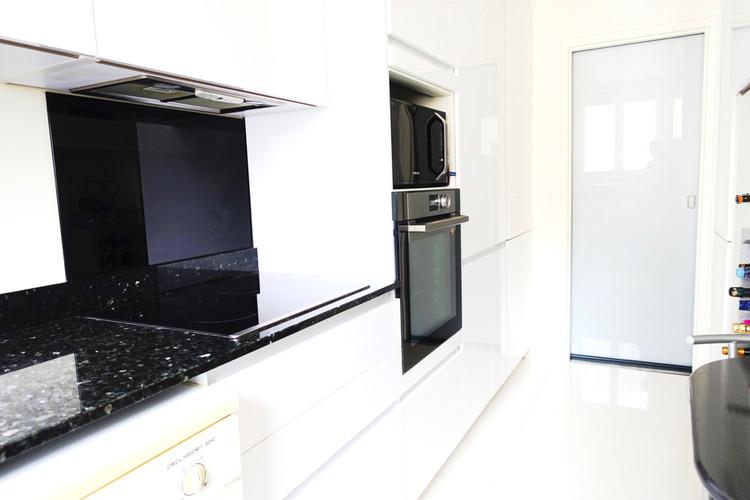 cuisine noire et blanche by L'Atelierde sab