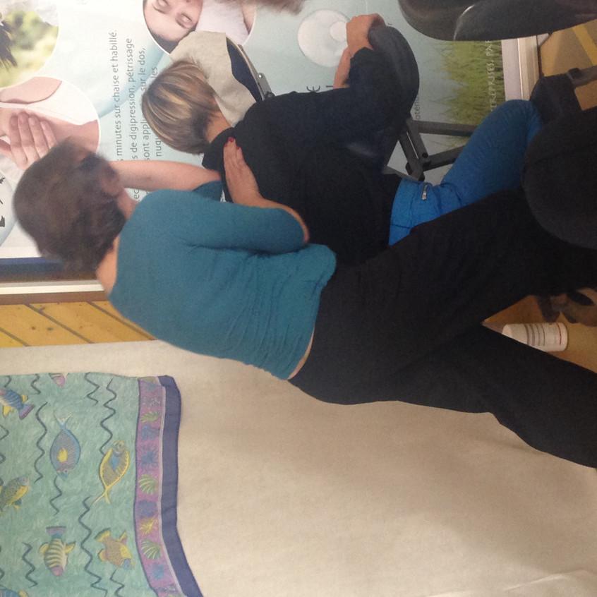 Véronique Denis praticienne en massages Bien être