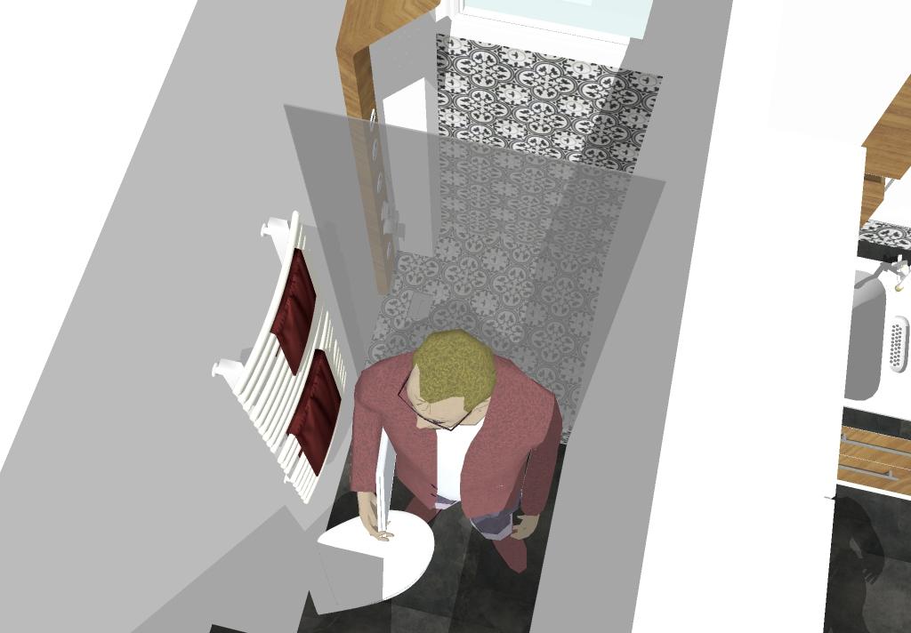 vue 3D douche italienne latelierdesab