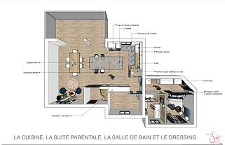 Visualisation 3D en Décoration par Sabrina Alvarez, Architecte d'intérieur et Décoratrice UFDI dans l'Essonne 91