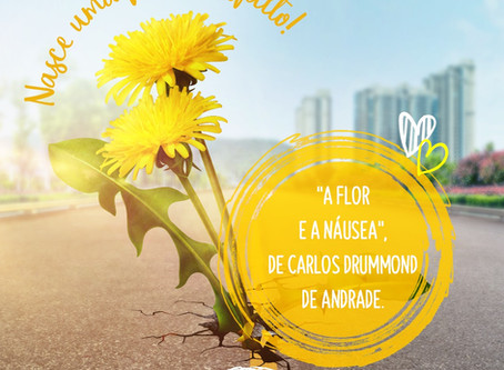 """A flor e a náusea"", de Carlos Drummond de Andrade."
