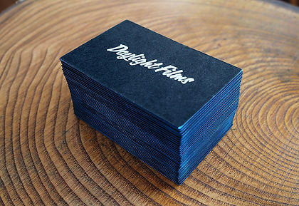 Daylight Productions Business Card Design