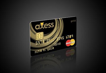 Axess Credit Card Design