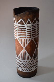 African vase