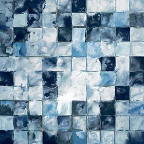 Denim cubes