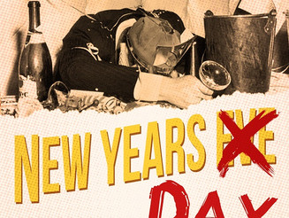 Nurse Your Hangover New Years Day at Fat Cat
