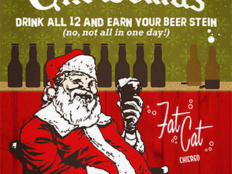 Join Fat Cat for 12 Beers of Christmas