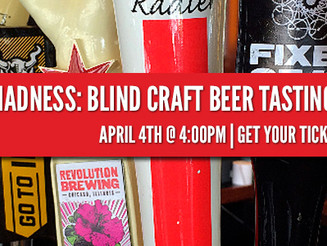 March Madness: Blind Craft Beer Tasting Tourney