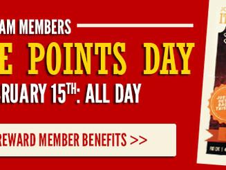 Reward Member Savings in February