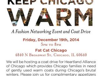 Keep Chicago Warm Event - December 19