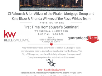 First Time Home Buyers Event