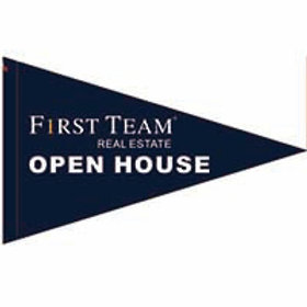"First Team Open House Flag 19"" x 31"""