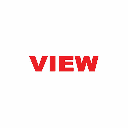 """VIEW RIDER Double-Sided (Size 18"""" x 4"""")"""