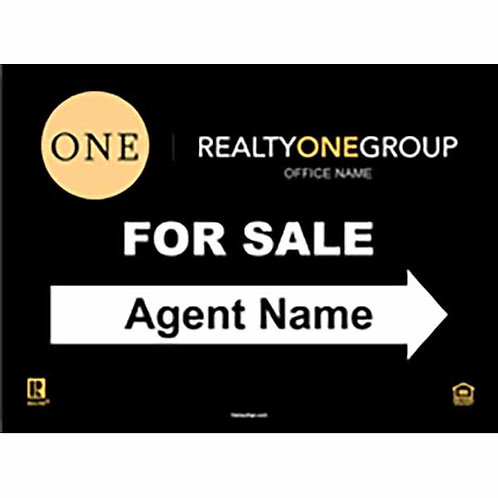 Realty One Group For Sale  Sign