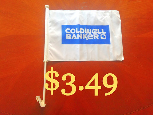 Coldwell Banker Car Flags just 14 left
