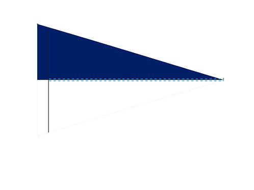 "Flag White & Blue 19"" x 31"""