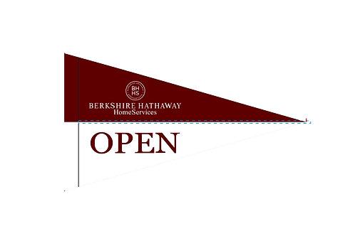 "Berkshire Hathaway Flag 19"" x 31"""
