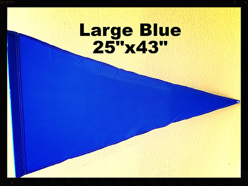"""Flag Solid  Blue Extra Large 25"""" x 43"""""""