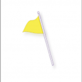 Top section Flag pole 3 Feet (Flag not included)