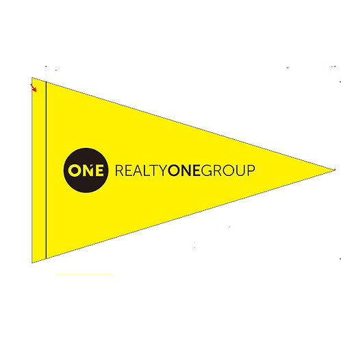 Realty One Group Flag Yellow (New Logo)