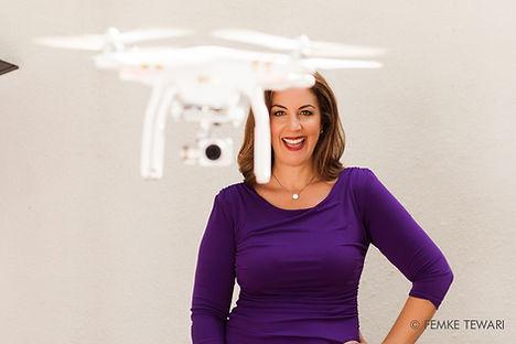 cyn with drone.jpeg