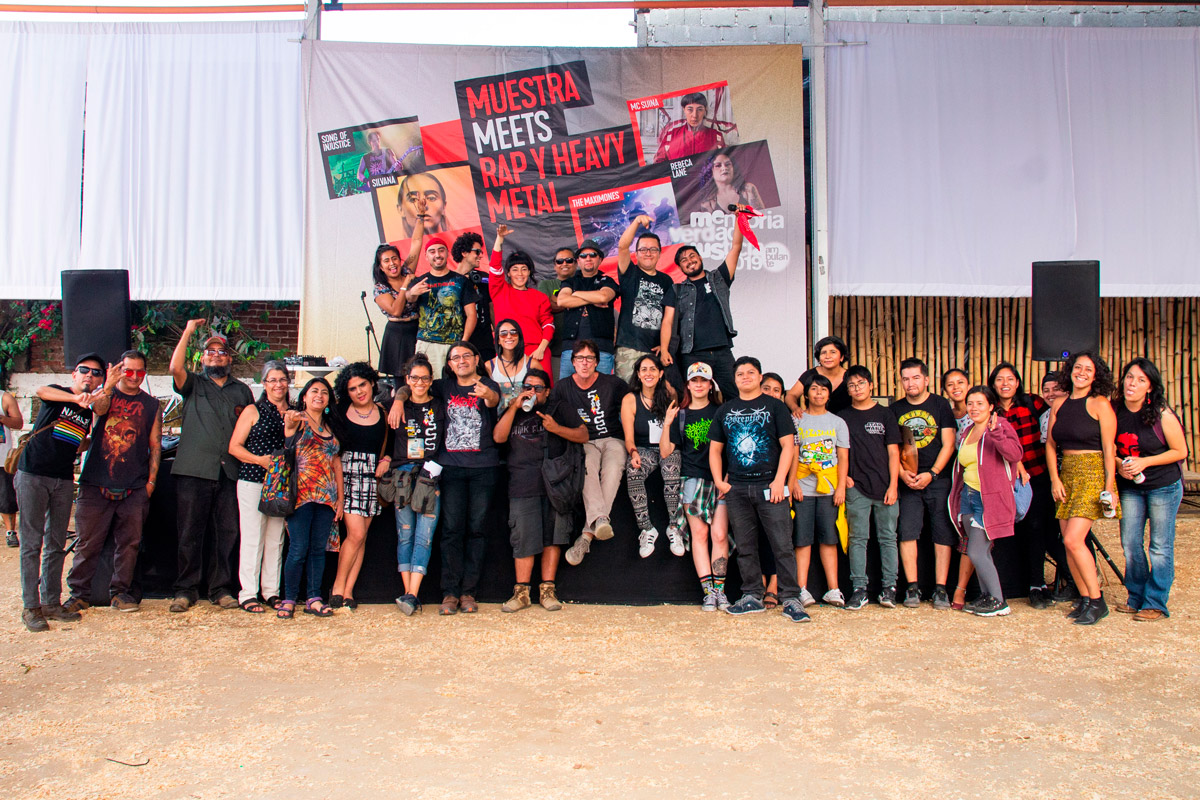 Muestra meets Rap y Heavy Metal