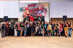 Muestra meets Rap y Heavy Metal