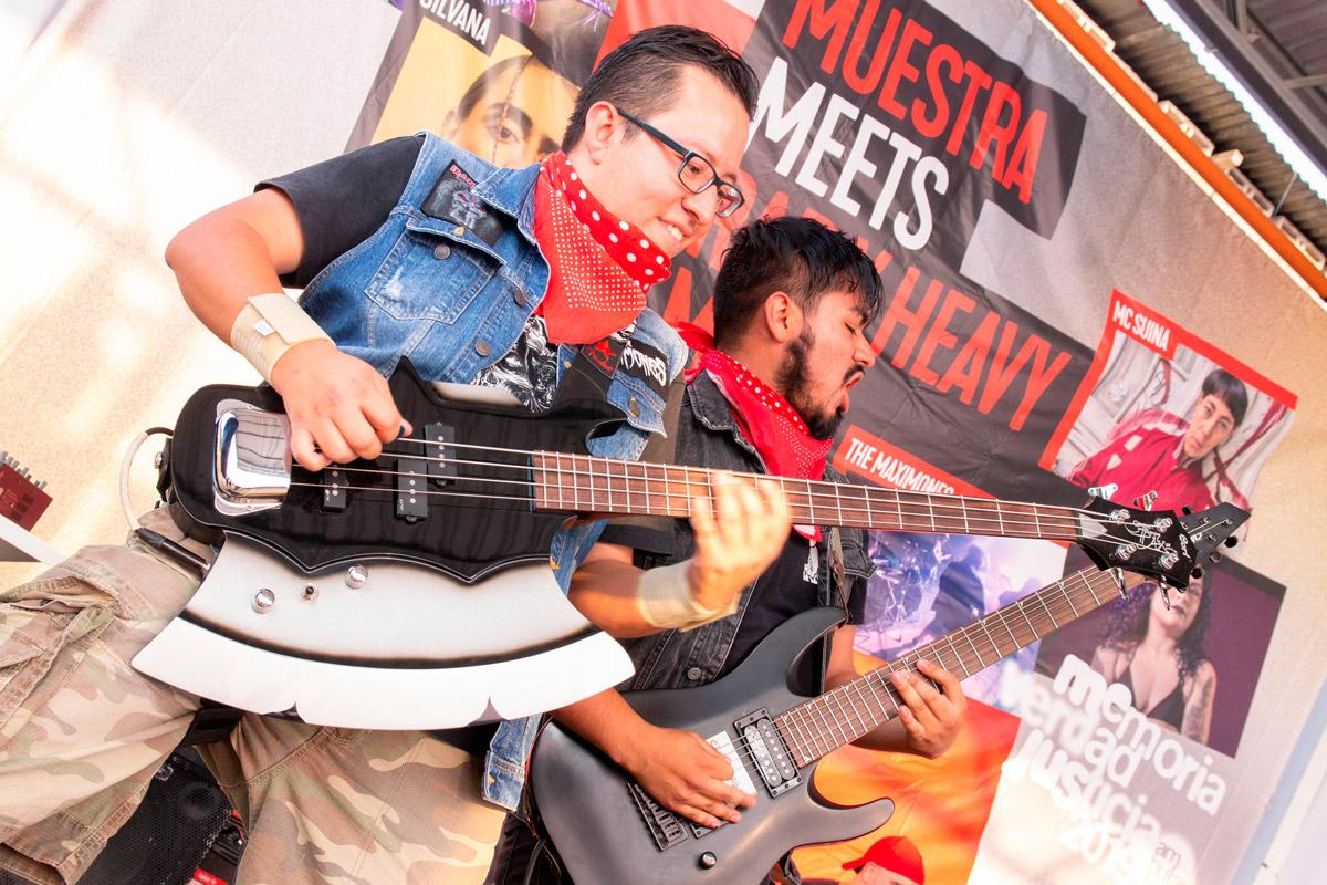 Muestra meets Heavy Metal