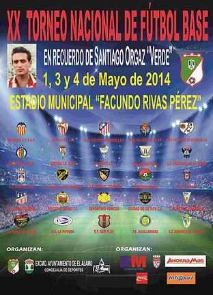 Torneo Nacional Fútbol Base 22014