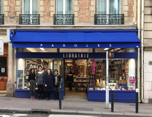 LIBRAIRIE PAROLES