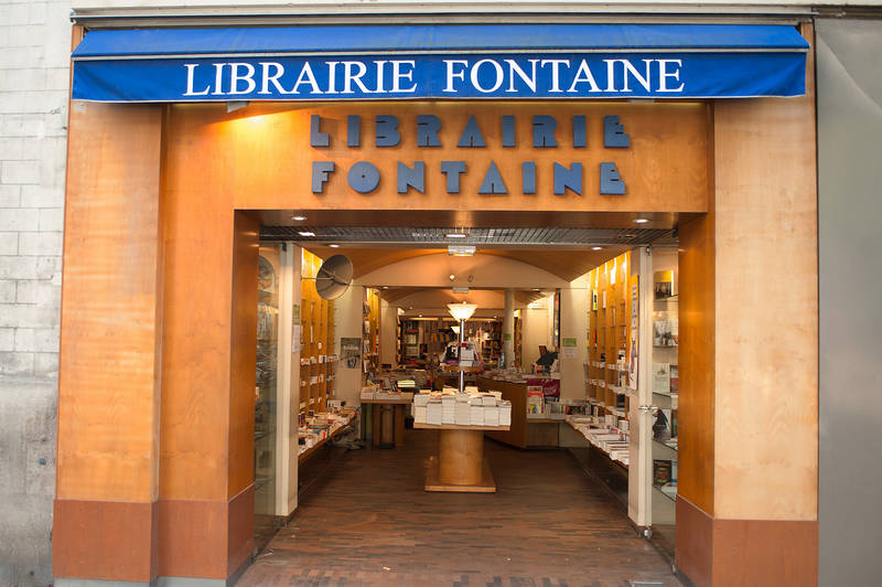 LIBRAIRIE FONTAINE VICTOR HUGO