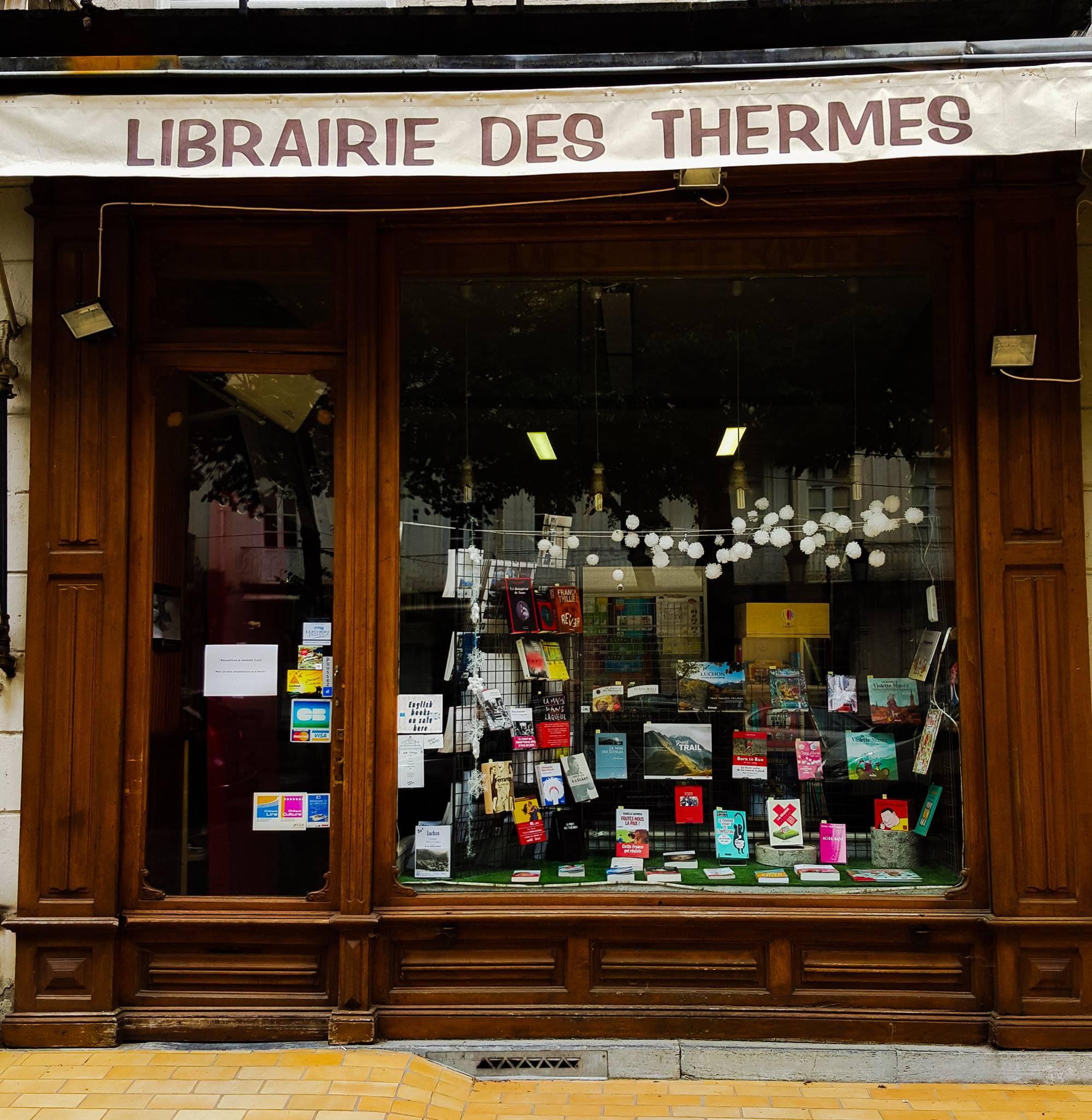 LA LIBRAIRIE DES THERMES
