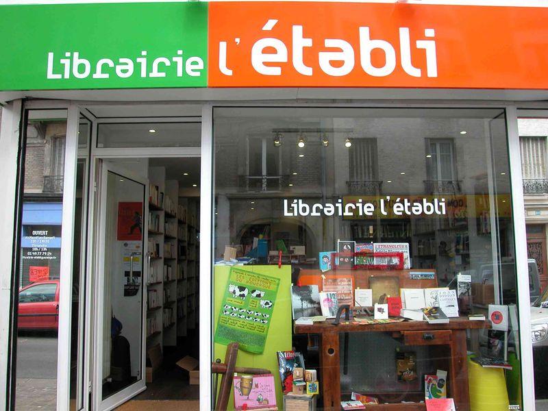 LIBRAIRIE L'ÉTABLI
