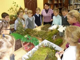 Лучший макет землянки выбрали в Курсаковской школе