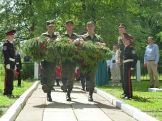 День памяти и скорби отметили в деревне Деньково