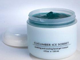Cucumber Ice Sorbet