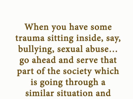 Trauma; Most of Us Have Some