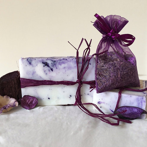 Lavender Love Soap and Sachet
