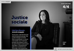 """""""Lida Nouraie: avocate engagée"""" dans La Presse+"""