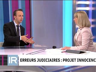 Le Projet Innocence à RDI avec Isabelle Richer