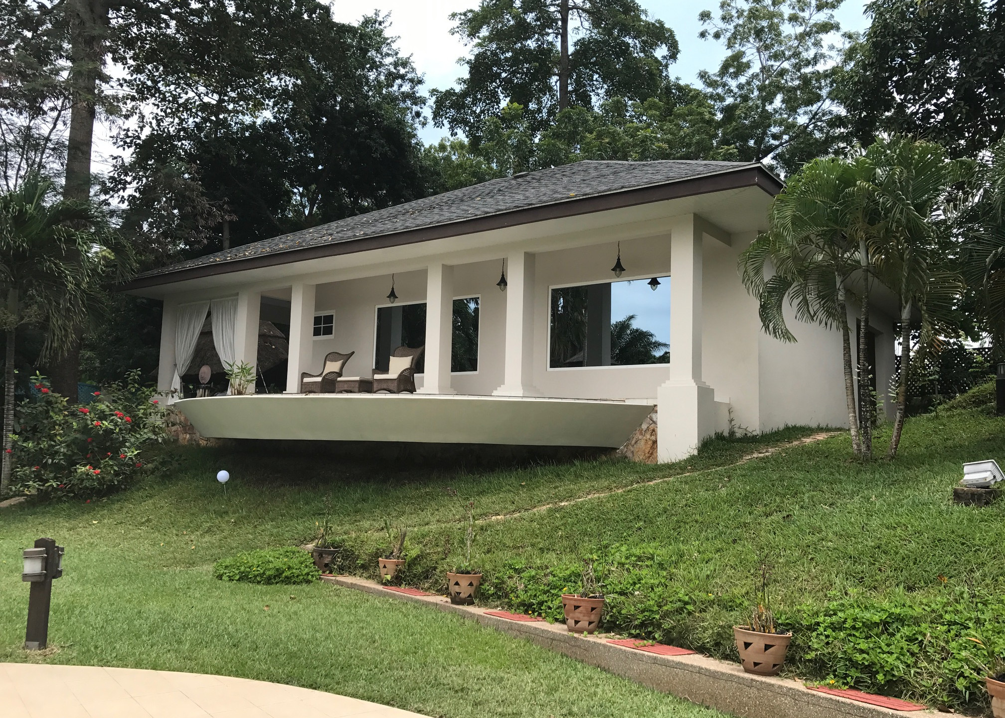 Poutre béton pour toit Concrete beam for house roof