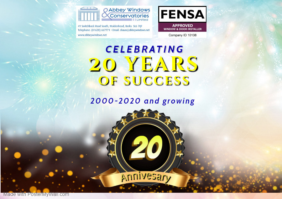 Abbey Windows 20th Anniversary - Landsca