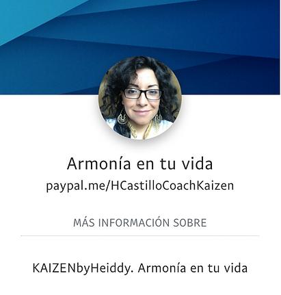 imagen de Paypal de la empresa Armonía en tu vida.