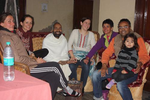 Random image of some folks at some Ashram