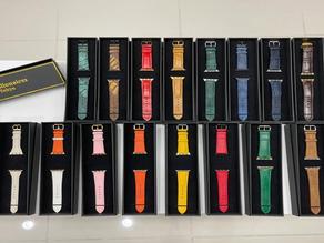 Rare Genuine Leather Apple Watch Straps - Apple Watch Straps - VIP Billionaires